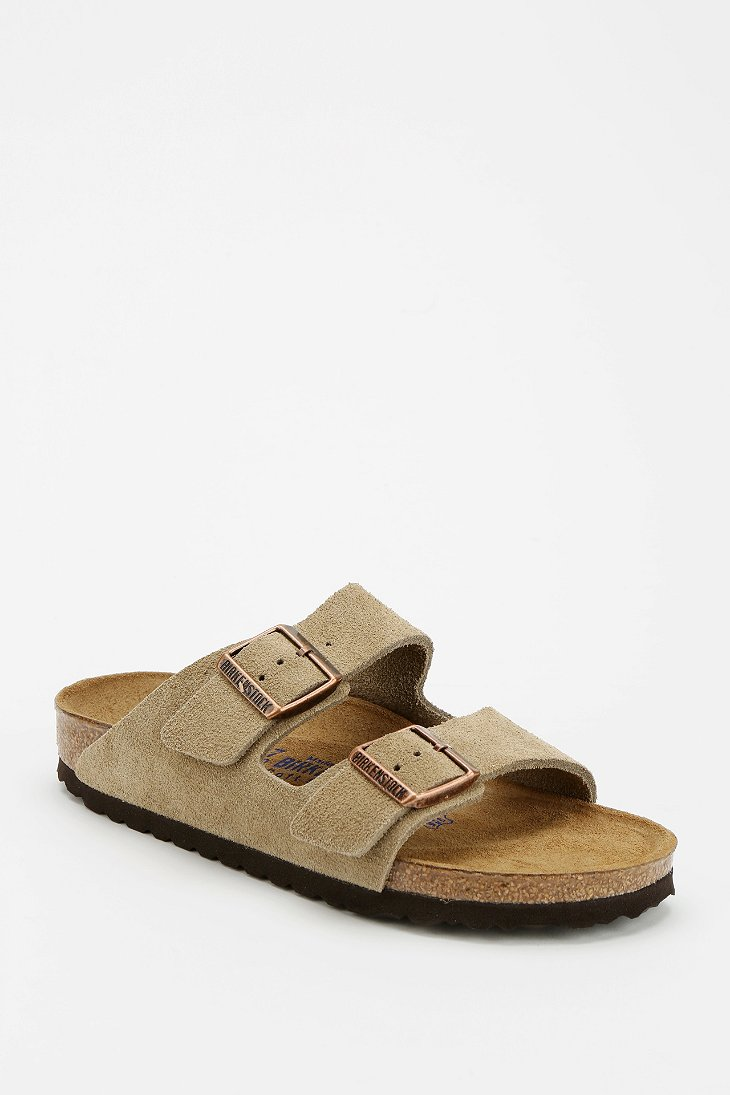 Birkenstock Arizona Suede Sandal - Urban Outfitters