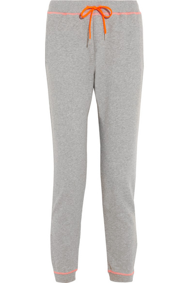 Richard Nicoll | Cotton-jersey track pants | NET-A-PORTER.COM