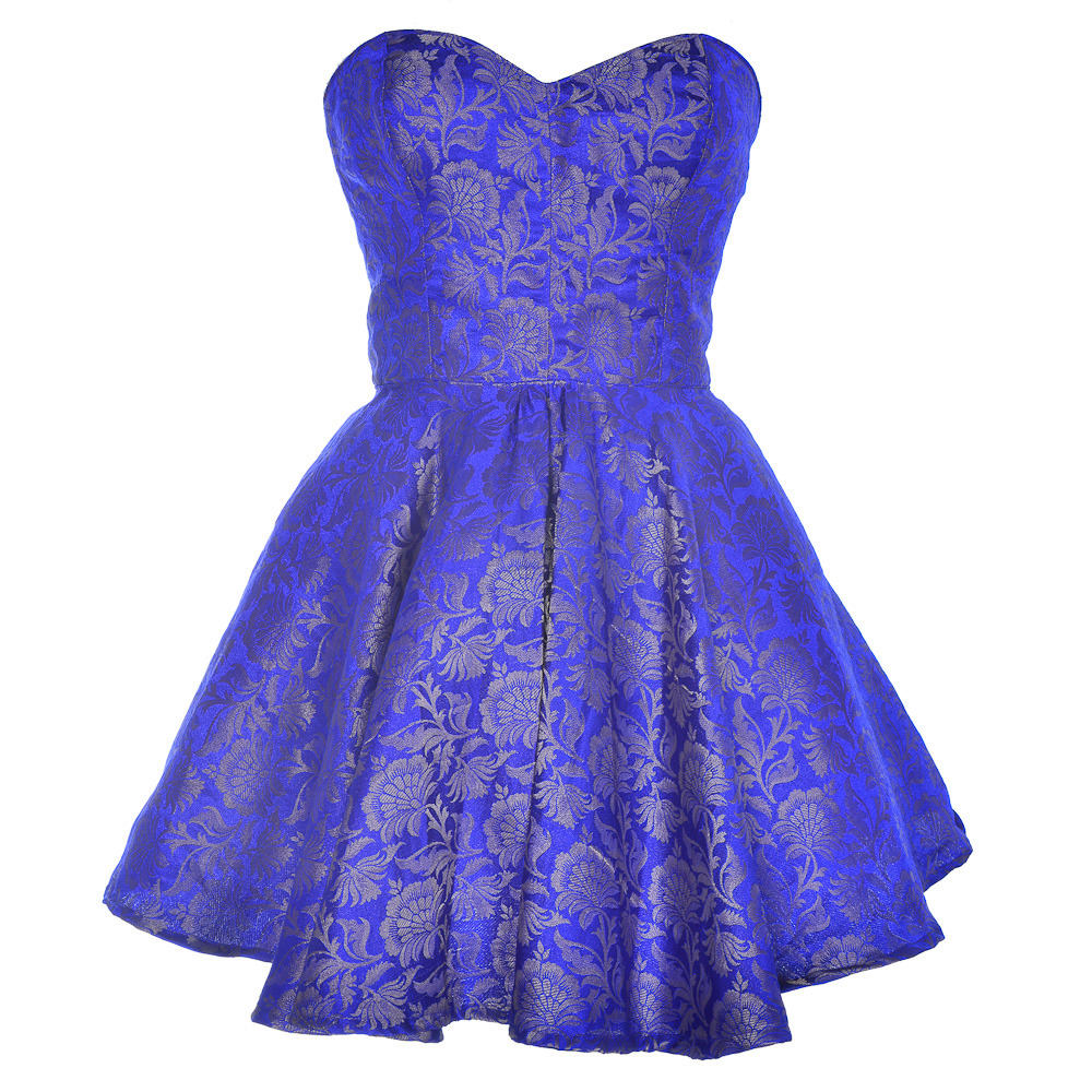 Blue party dress pictures