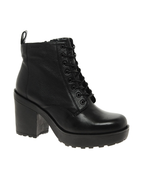 Vagabond | Vagabond Libby Platform Lace Up Ankle Boots at ASOS