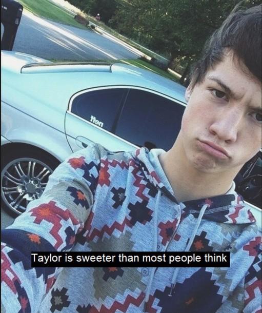 sweater taylor caniff menswear