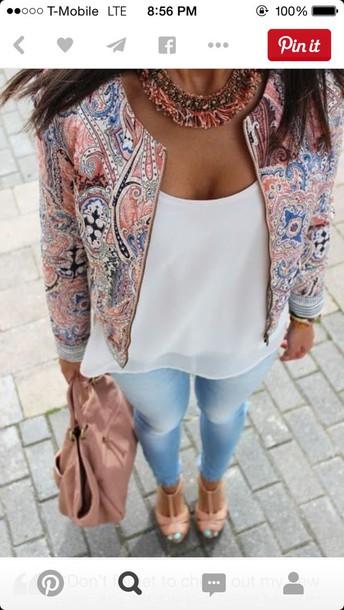 jacket multicolor blazer