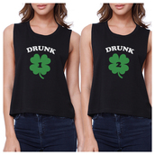 top,funny crop top,graphic crop tops,couple crop top,black top,black crop tee,custom crop top,cute crop tops,gift ideas,bff crop tops,saint patricks day