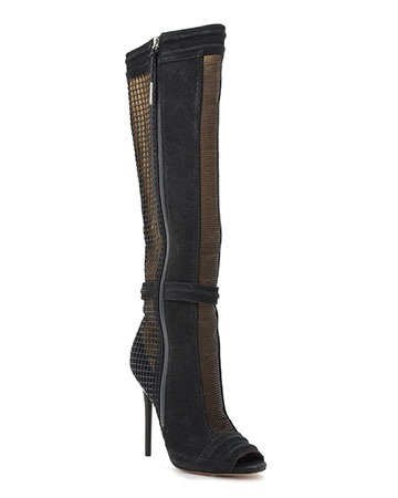 L.A.M.B. Sparrow Mesh Panel Tall Boot