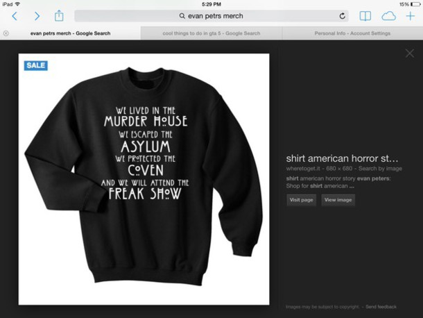 evan peters black sweater quote on it sweater