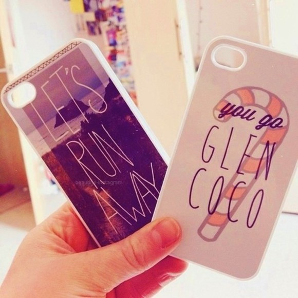 food phone case you go glen coco let's runaway iphone case candy jade thirwall
