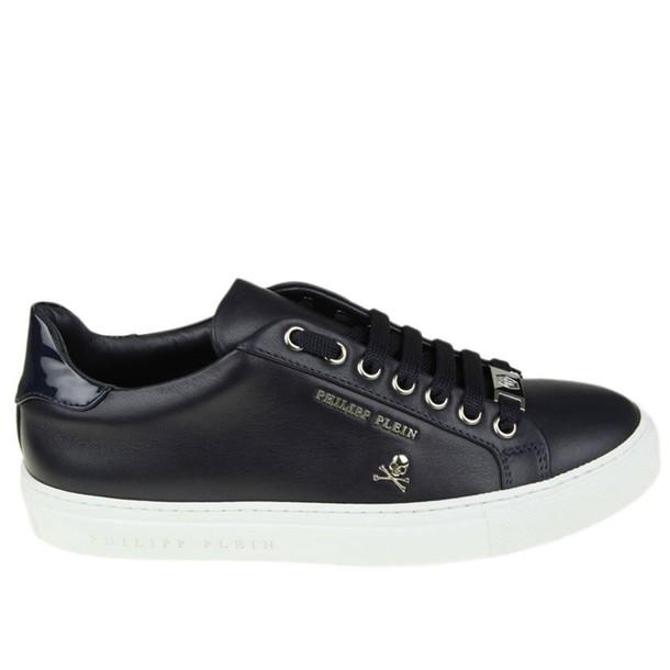 PHILIPP PLEIN sneakers. women sneakers blue shoes