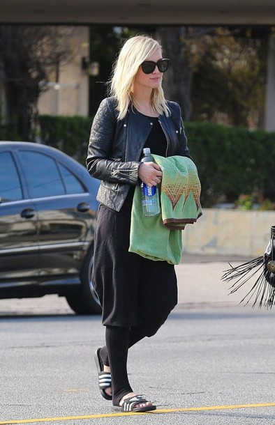 jacket ashlee simpson leather jacket biker jacket
