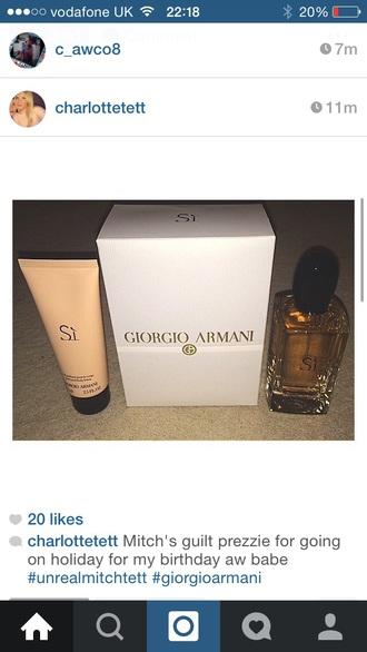 make-up smellies perfume giorgio armani smell giorgio armani si