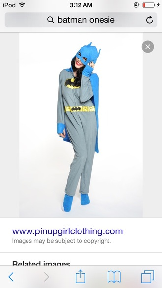pajamas batman onesie
