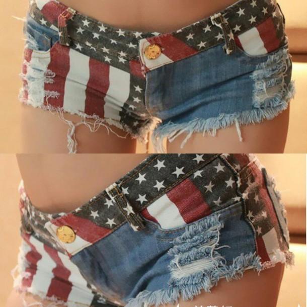 shorts flag