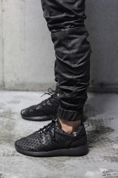 skinny nike roshe run tapered crocodile mens shoes menswear
