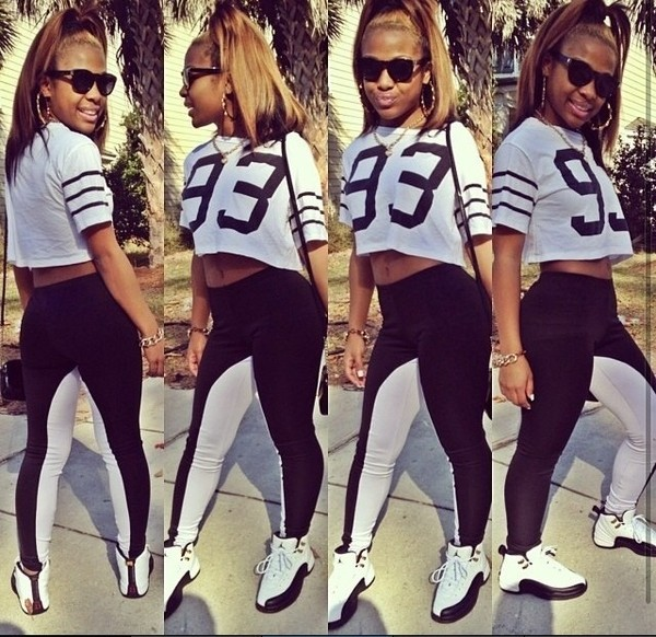 pants sexy black white 93 98 shades chillin laid back gangsta jayysfordayys shoes shirt jewels