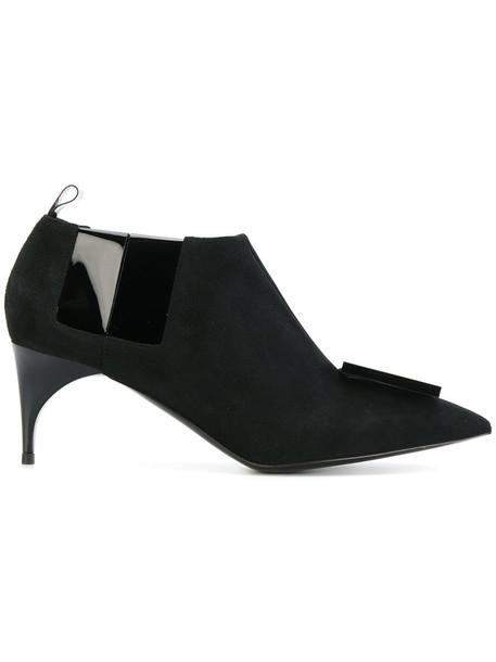 Alain Tondowski women shoes leather black