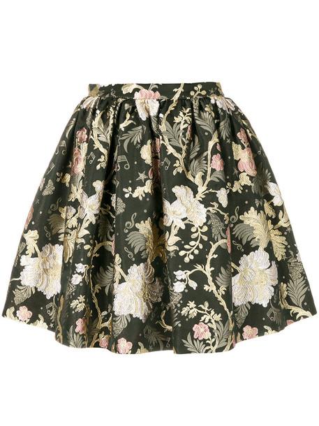 PICCIONE.PICCIONE skirt mini skirt mini women floral print