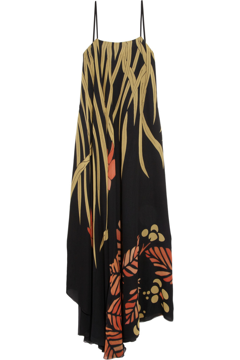 Printed silk maxi dress | Chloé | 75% off | THE OUTNET