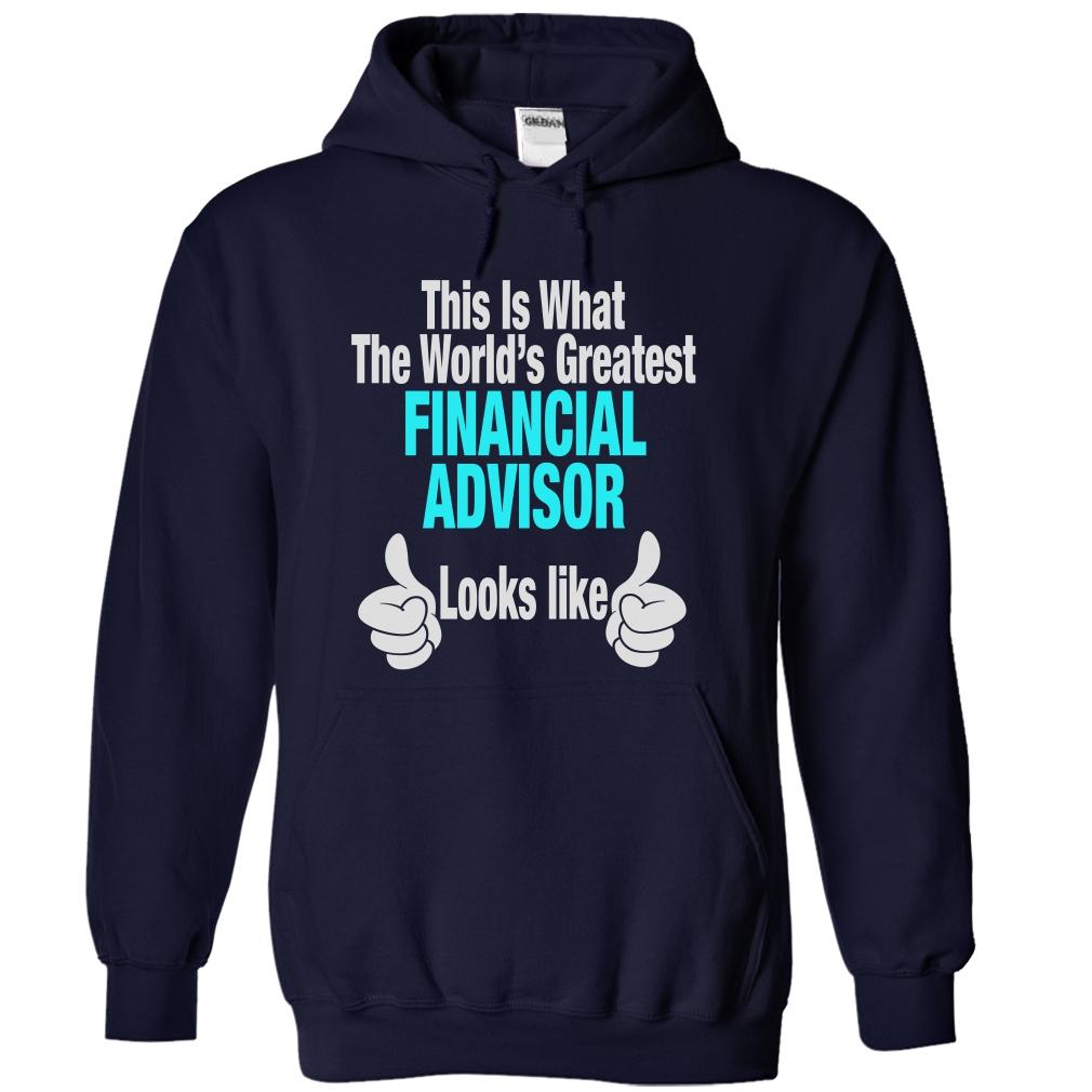 Financial Advisor Funny T-Shirt & Hoodie
