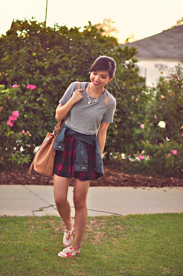 fresh fizzle blogger skirt top jacket jewels bag