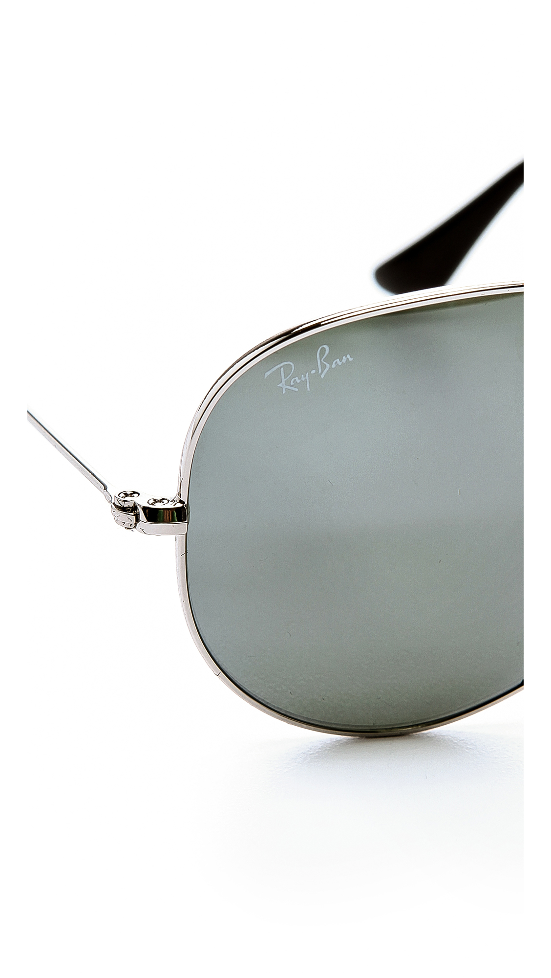 Ray-Ban Mirrored Original Aviator Sunglasses | SHOPBOP