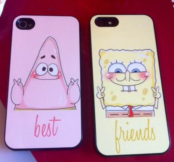 phone cover phone cover phone cover bff sponge bob and patrick patrick star spongebob patrick best friends phone case