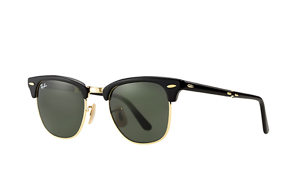 Look who's looking at this new Ray-Ban Clubmaster Folding