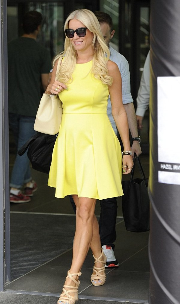 denise van outen dress