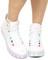 White illuminate sneaker at shop jeen