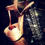 shoes,heels,sparklly,sparkle,gem,gems,nude,heel,platform shoes,thick heel,rhinestones,straps,t-strap,t-strap heels,black,dressy,t-straps,celebrity,high heels