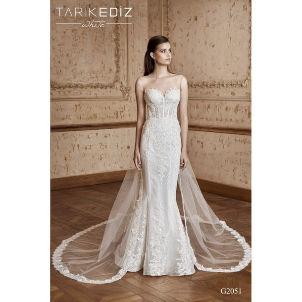 dress ivory dress sleeveless sweet high-low dresses tarik ediz dress