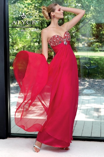 Bodice Overlay Beaded Rhinestone Chiffon Graduation Dresses / Homecoming Dresses / Prom Dresses ACGowns 6023 - KnotDresses.com