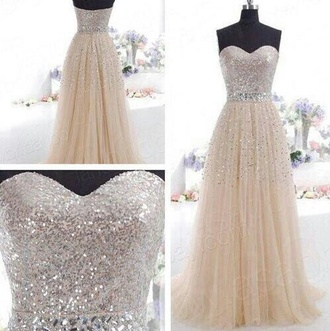 dress white glitter pretty beautiful prom sparlkly diamond dress