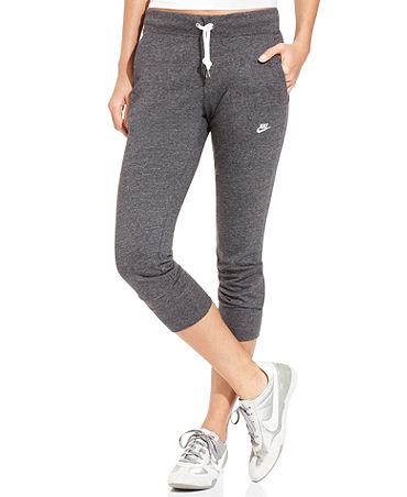 Pants, Time Out Capri Sweatpants - Pants & Capris - Women - Macy's