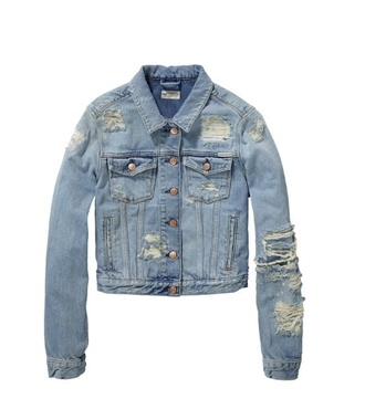 jacket ripped jeans distressed denim iwantitall denim with holes at knees pop of junk