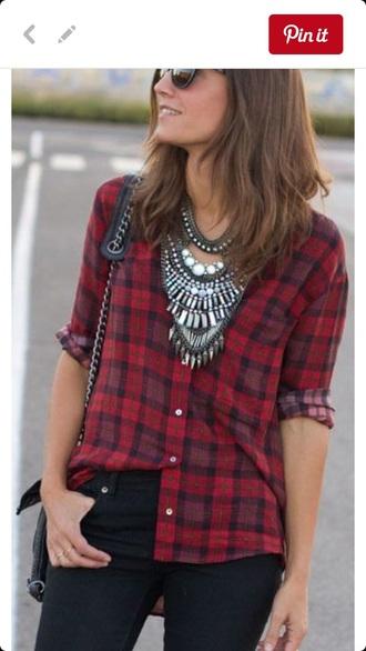 shirt plaid where ebay