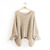 Women Lady Batwing Casual Loose Hollow Knit Pullover Jumper Sweater Knitwear | eBay