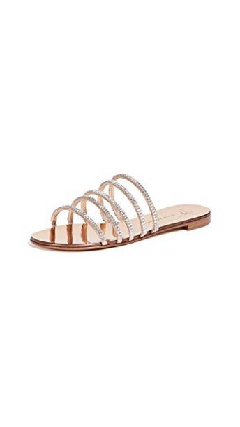Giuseppe Zanotti sandals flat sandals shoes