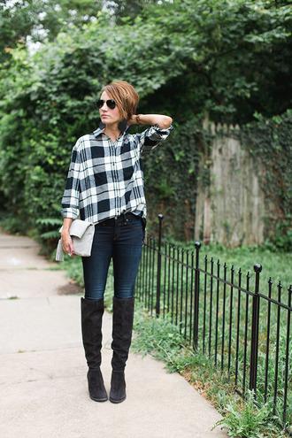 one little momma blogger shirt pants shoes bag