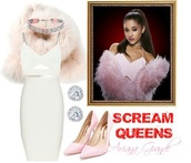 dress,ariana grande,scream queens,jewels