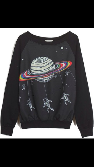 space rainbows astronauts rainbow jumper