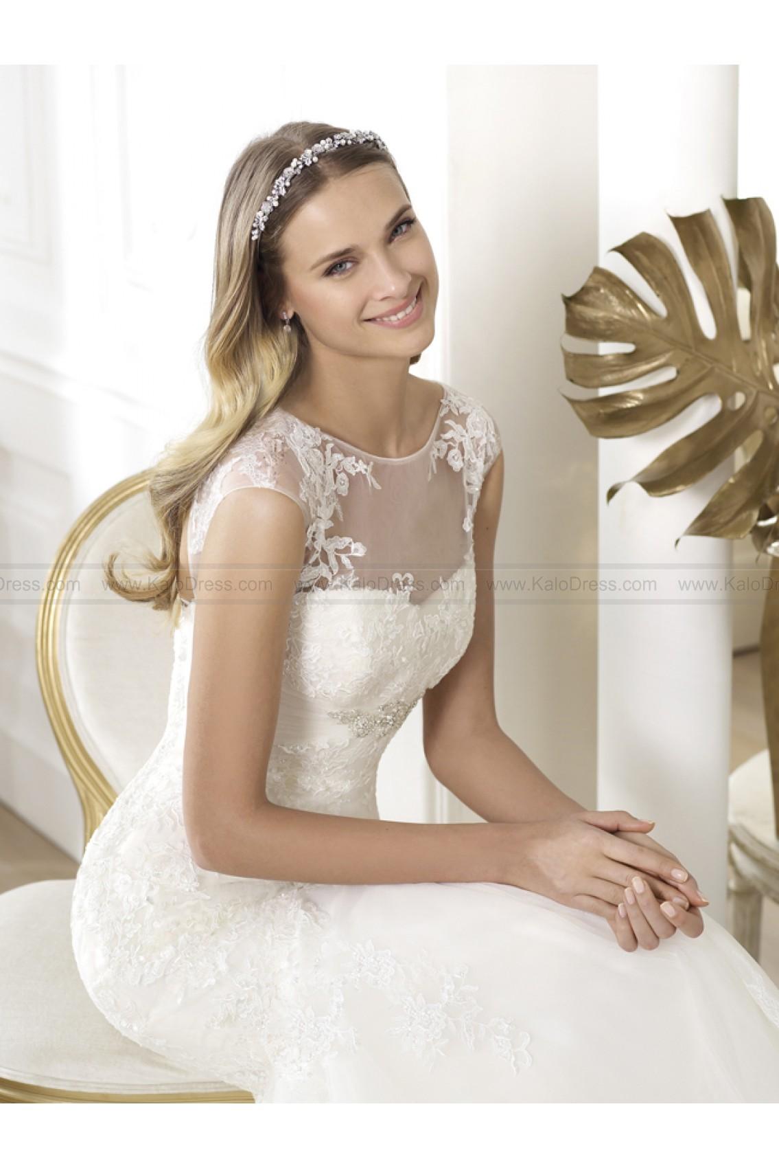 Pronovias Wedding Dresses - Style Leonde - Wedding Dresses 2014 New - Formal Wedding Dresses