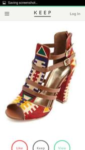 shoes aztec print shoes aztec print booties aztec print heels boots open toe booties open toe heels