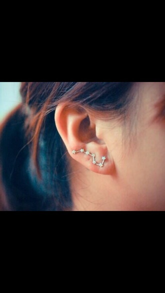 jewels earrings stars