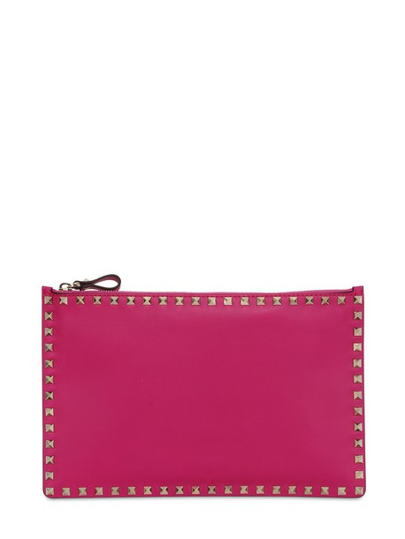 pouch leather bag