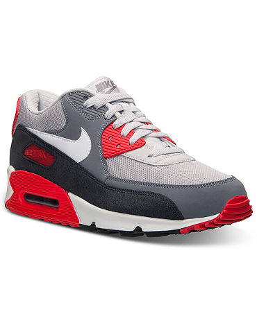 Nike Men's Air Max 90 Essential Running Sneakers from Finish Line - Finish Line Athletic Shoes - Macy's