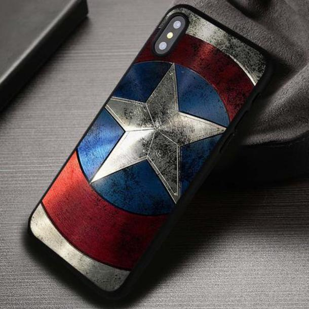 phone cover, movies, superheroes, captain america, iphone cover ...