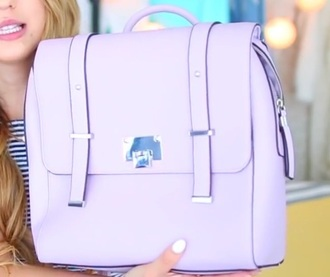 bag pastel purple bag pastel purple backpack bag.