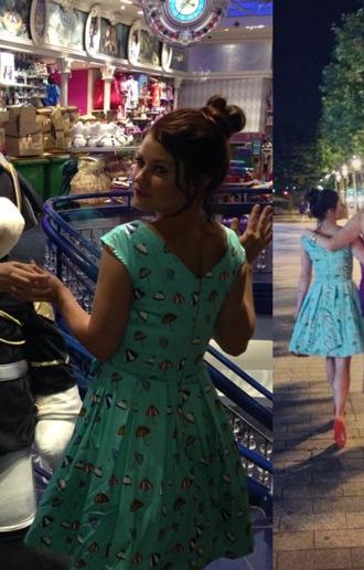 dress mint green green dress mint umbrella dress blue dress umbrella