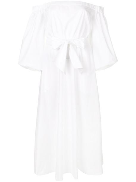 Gabriela Hearst dress women white cotton