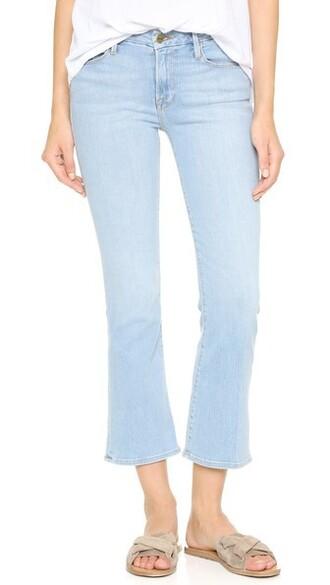 jeans mini cropped brooklyn