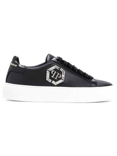 PHILIPP PLEIN women sneakers leather black shoes